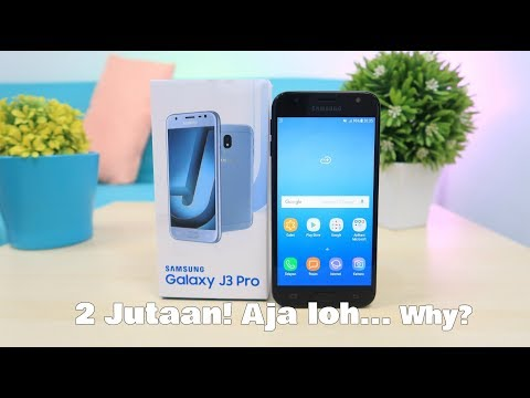 Unboxing Samsung Galaxy J3 PRO (2017) Indonesia