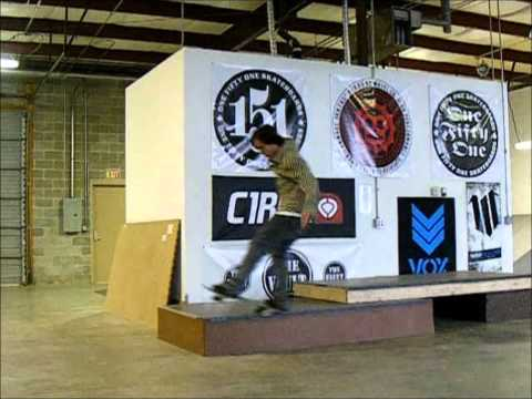 Heath Hoefener and Steven Kane Skateboarding Session @ The Vault Skatepark