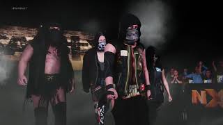 WWE 2K18: SAnitY and The Club Full Ring Entrance Videos!