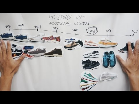Nike Footscape Woven 進化史 [Eng Sub] The Evolution Of Footscape Woven