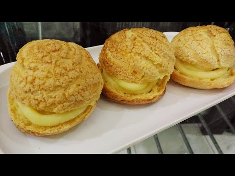 Video Resep Kue Sus Crunchy (Crispy Choux Pastry) dan Super yummy