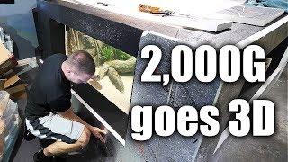 2,000G aquarium goes 3D!   The king of DIY   Kholo.pk
