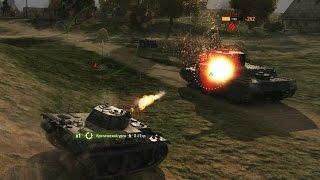 World of Tanks. Рандомный бой. ЛТ 5 уровня VK 16.02 Leopard