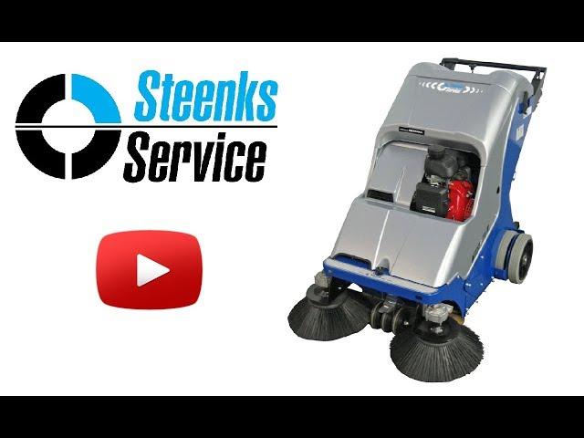 YouTube video | Bändchen-Gewebe Kehrmaschine Stefix 73
