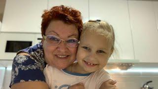 Любимая внучка Алиса пришла в гости! Мы во всей Красе!