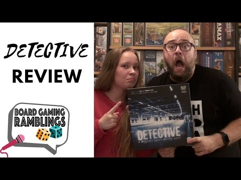Board Gaming Ramblings: Detective Review