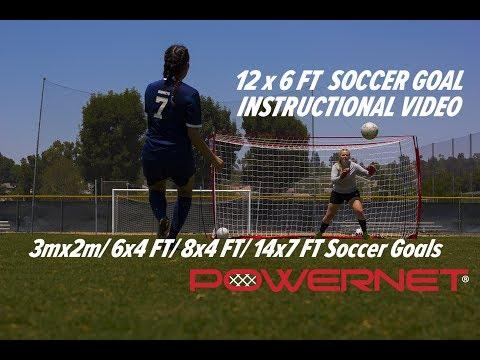 12 x 6 FT Soccer Goal Instructional Video