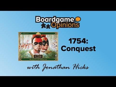 Boardgame Opinions: 1754: Conquest