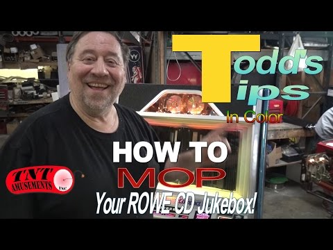 #816 How to MAP your ROWE CD JUKEBOX - Another TODD'S TIPS from TNT Amusements