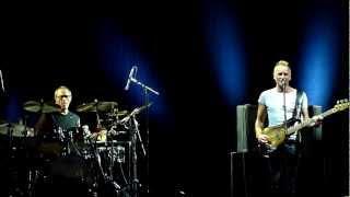 Sting - Englishman in New York - Seven days (Budapest - 2012.06.26.)