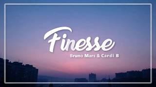 Finesse - Bruno Mars ft. Cardi B (Lyrics)