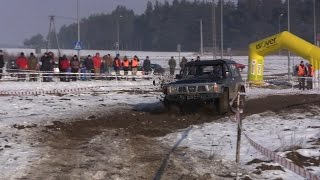preview picture of video 'Winter Trap III Kolno 14-02-2015 Off-road 4X4'