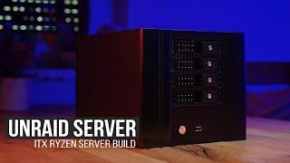Besser und günstiger als jedes Fertig NAS! - Ryzen ITX unRaid Server Build