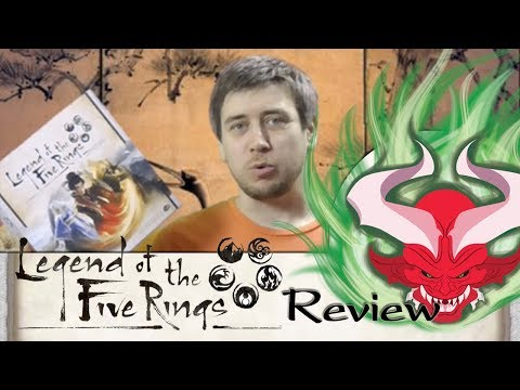 Legend of the Five Rings LCG Review – It's Finally Out!