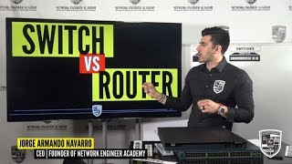 Routers vs Switches - Let's go over the details and learn it in a  FUN way!
