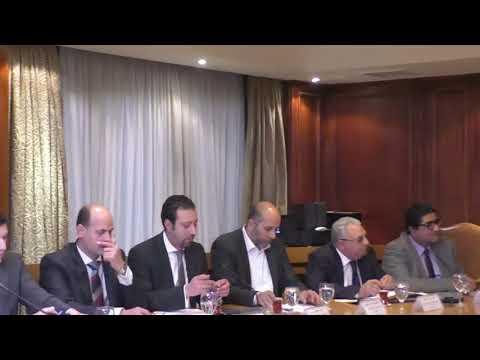 اجتماع الوزير/عمرو نصار مع أعضاء مجلس الأعمال المصرى الياباني
