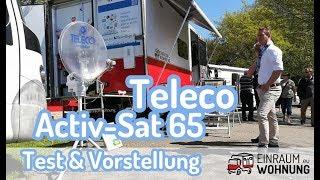 Test und Vorstellung Teleco Acitv-Sat 65 automatische Satellitenschüssel