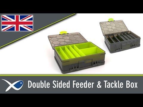 Matrix Double Sided Feeder & Tackle Box Szerelékes Doboz videó