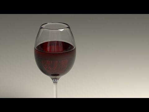 Blender Tutorial: Morphing Wine Glass Animation