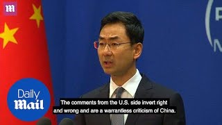 China urges US to stop provocative trade war rhetoric - Daily Mail