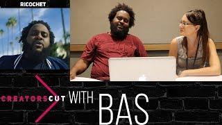 'Ricochet'- Bas explains artistic vibe & getting uncomfortable on #CreatorsCut