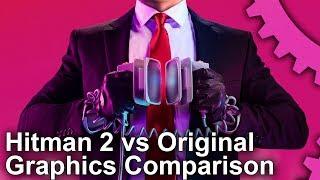 [4K] Hitman 2 vs 1 Engine Graphics Upgrade! - IO Interactive Improves Its Tech