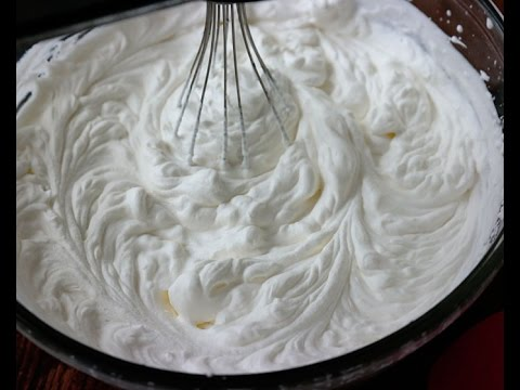 Video WHIPPED CREAM IN MALAYALAM / WITH COCONUT MILK/ BY MRS MALABAR