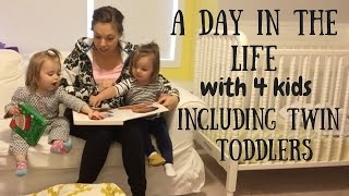 A DAY IN THE LIFE 3: FOUR KIDS INCLUDING TWIN TODDLERS