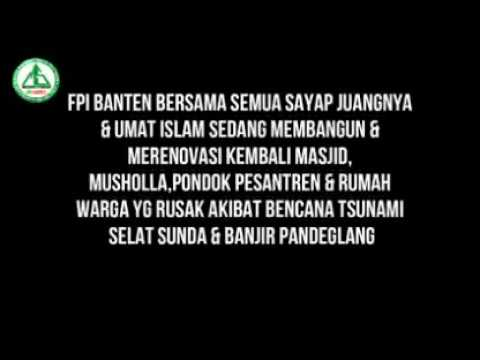 fpi banten 40 hari pasca Sunami Selat Sunda Banten & Lampung masi Bertahan Membantu para Korban