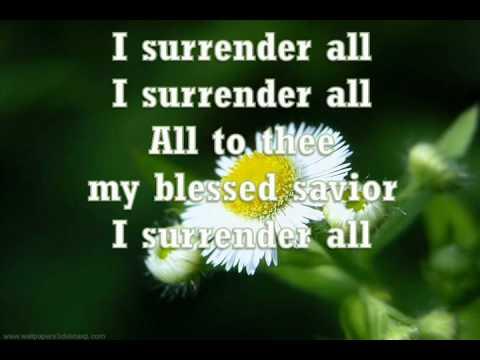 Música All To Jesus I Surrender