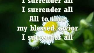 All To Jesus I surrender (Vineyard)