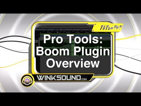 Pro Tools: Boom Plugin Overview   WinkSound