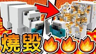 Minecraft 把所有東西通通燒毀 !! 超紓壓燃燒地圖 !! | 烈焰倖存者 SURVIVE THE BURN