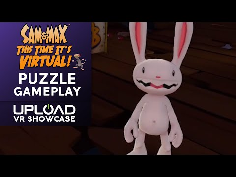 Gameplay Footage de Sam & Max: This Time It's Virtual!