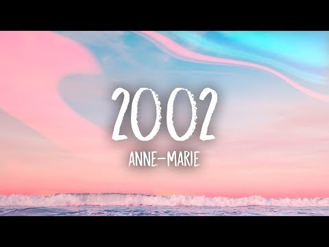 2002 Anne Marie Lyrics