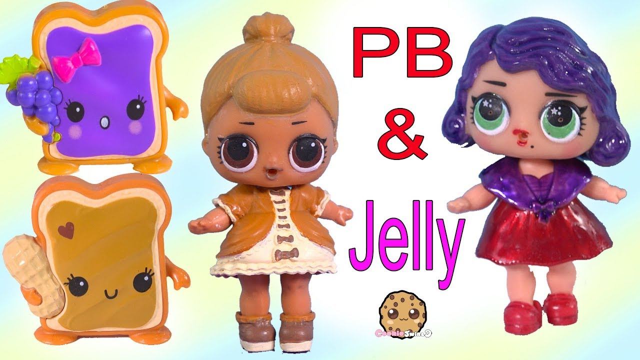 Lol Surprise Peanut Butter Jelly Bff Doll Diy Craft Makeover
