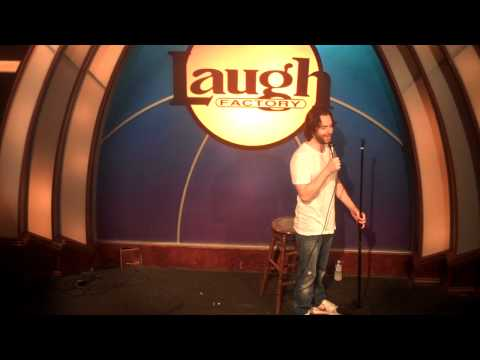 Weirdest Set at Laugh Factory