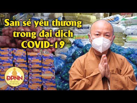 Chương trình san sẻ yêu thương trong đại dịch Covid-19