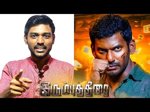 Irumbu Thirai Review by Behindwoods | Maathevan | Vishal