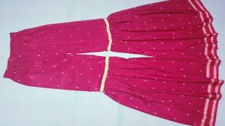 sharara suit cutting and stitching sikhiye hindi me