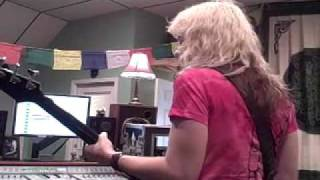 "The Dollyrots In Studio Recording ""California Beach Boy"""