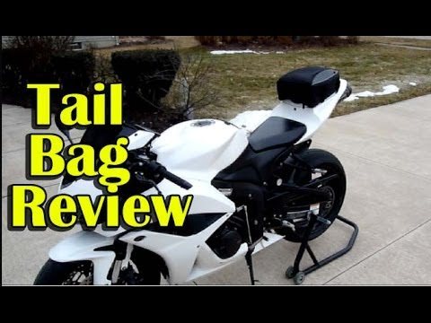 SportBike Motorcycle Tail Bag Install and Review – Nelson-Rigg CL-1060 Tail Bag
