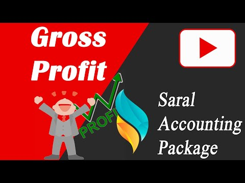 Gross Profit Reports in Saral | Bill Wise GP Reports | Item Wise Gp Report