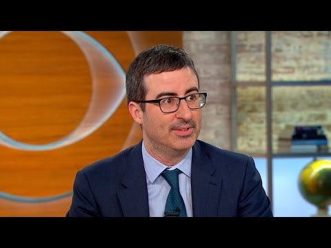 """John Oliver on success of """"Last Week Tonight,"""" Snowden interview, Baltimore riots"""
