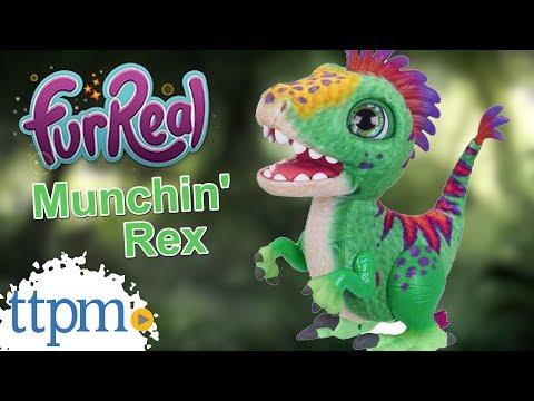 FurReal Munchin' Rex from Hasbro