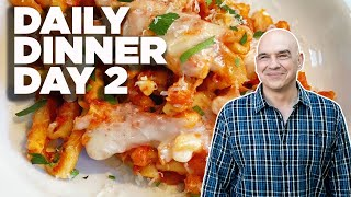 Cook Along With Michael Symon   Easy Pasta Bake   Daily Dinner Day 2