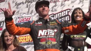 Highlight Of LOORRS Lake Elsinore Race With Pro 2 Driver Brian Deegan