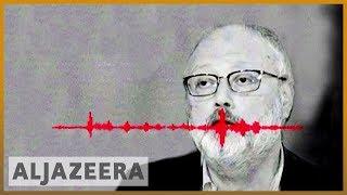Audio of Jamal Khashoggi