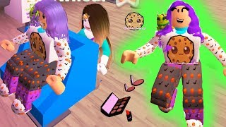 Halloween Salon Style Makeover ! Let's Play Roblox Game Cookie Swirl C Video