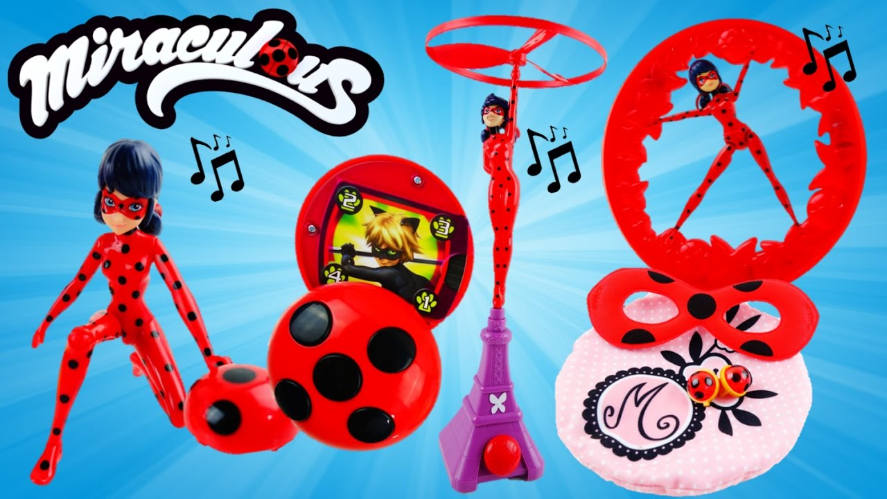Compilation - 2016 Miraculous Ladybug Toys and Playsets   Evies Toy House